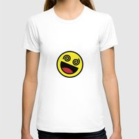 emoji T-shirts featuring Drunk Emoji by Birds & Kings