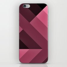 Pink and Black Gradient  abstract iPhone & iPod Skin