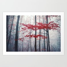 Woodland Fantasy Art Print