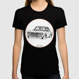 Crazy Car Art 0187 T-shirt