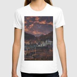 Doom Looms Around The Village T-shirt