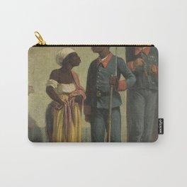 Víctor Patricio de Landaluze - Conversation on the Street Carry-All Pouch