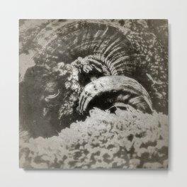 Le Belier Noir - Gerald Robin ©  Metal Print