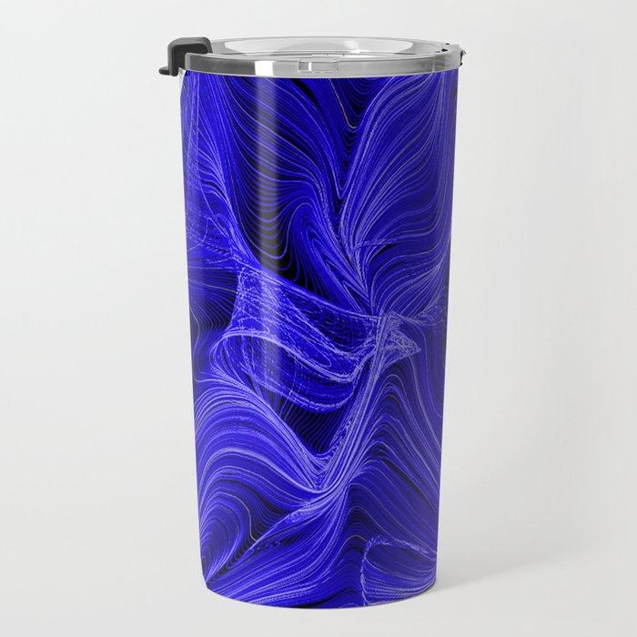 Midnight Blue Mist Travel Mug