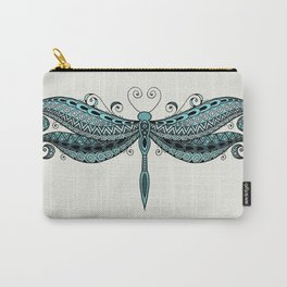 Dragonfly dreams turquoise Carry-All Pouch