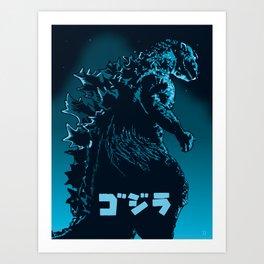 Godzilla 1954 Art Print