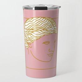 Aphrodite Face Travel Mug