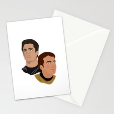 The Two Captains Stationery Cards