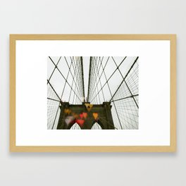 Brooklyn My Love Framed Art Print