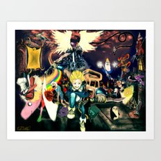 Final Adventure Fantasy Time! Art Print