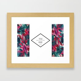 Titus House Banner Framed Art Print