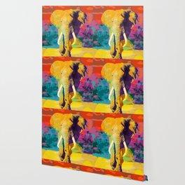 Elephant Pop Wallpaper