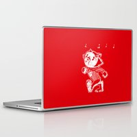 bucky Laptop & iPad Skins featuring Steamboat Bucky by Aaron Bowersock