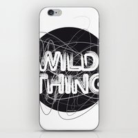 the thing iPhone & iPod Skins featuring Wild Thing by feigenherz BAM