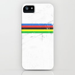 Jersey minimalist cycling iPhone Case