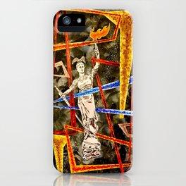 Monumental geometric iPhone Case