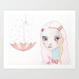 Don't Rain on my Parade Art Print