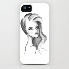 V. iPhone Case