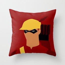 Speedy Minimalism Throw Pillow
