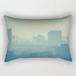 Hazy Bratislava Rectangular Pillow