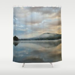 Dawn's Golden Promise Shower Curtain