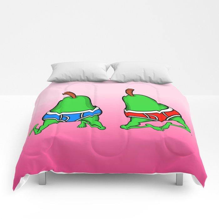 Gay Pear Comforters