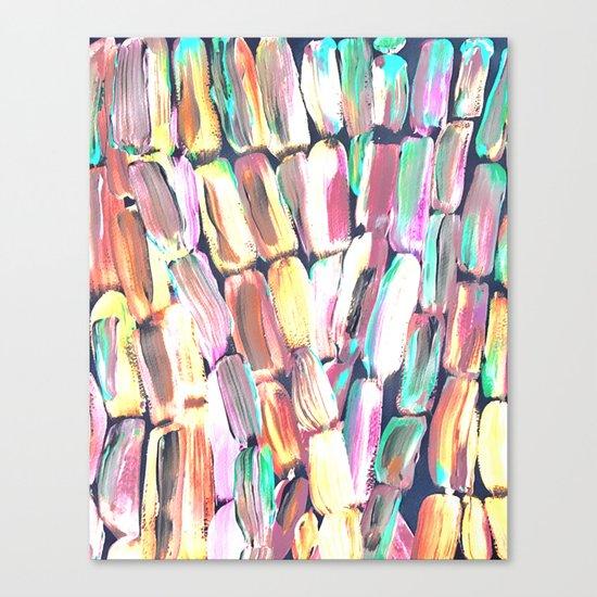 Spring Fiesta Sugarcane Canvas Print