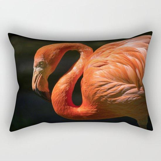 Flamingo photo Rectangular Pillow