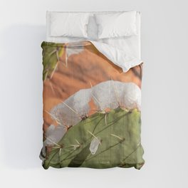 Snow-Capped Cacti - 0717 Comforters