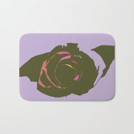 Abstract Rose Bath Mat