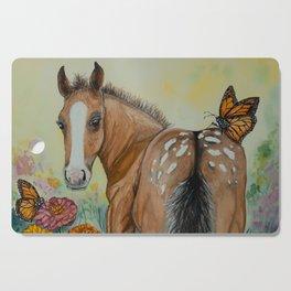 Garden Adventure Appaloosa Foal Cutting Board
