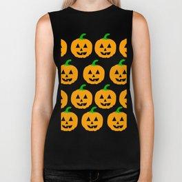 pumpkin pattern Biker Tank