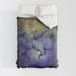 Pansy in Space Comforters