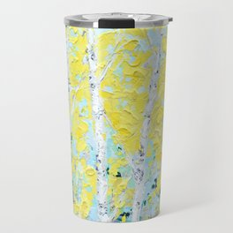 New England Paper Birch Travel Mug
