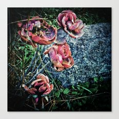 Faded but not forgotten  Canvas Print