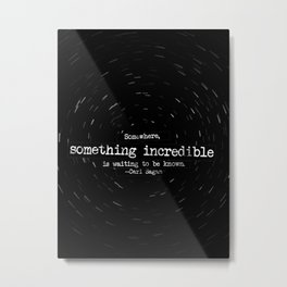 Somewhere... Metal Print