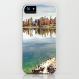 Lago Federal Lake Landscape iPhone Case