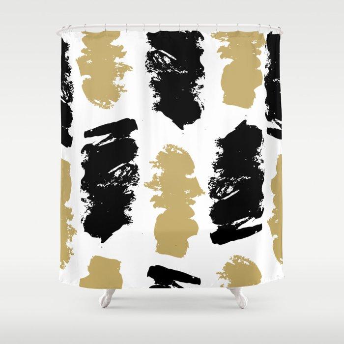 Geometric Pattern 2 Shower Curtain