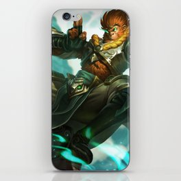 Jade Dragon Wukong League Of Legends iPhone Skin