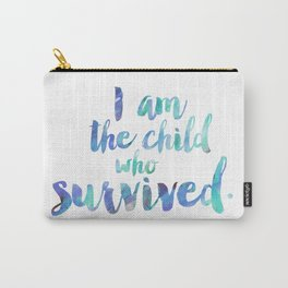 The color child who survived. Carry-All Pouch