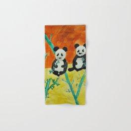 Pandas Hand & Bath Towel