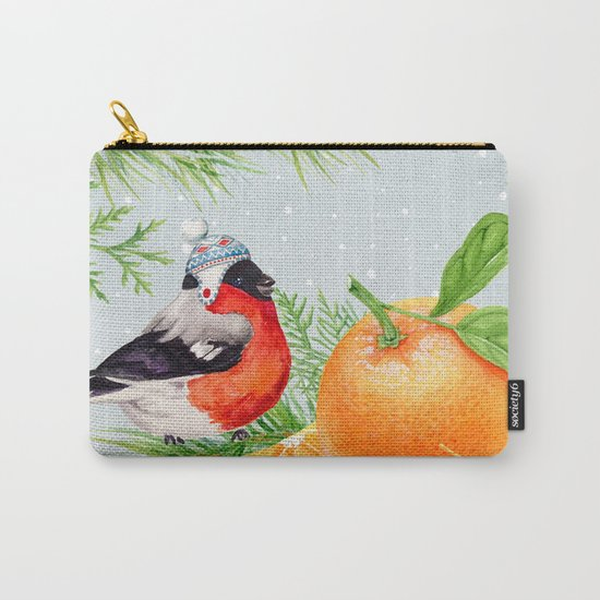Winter animal #9 Carry-All Pouch