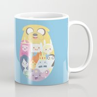 adventure Mugs featuring Adventure by Eva Puyal