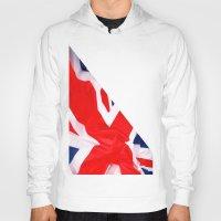british flag Hoodies featuring Im British by Stitched up designs