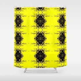 Mustard Seed Pattern Shower Curtain