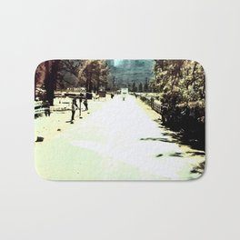 At The End Of The Road Bath Mat