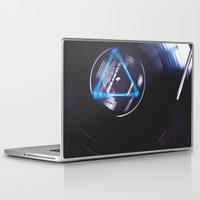floyd Laptop & iPad Skins featuring Floyd Spinning by Jasmine Marie