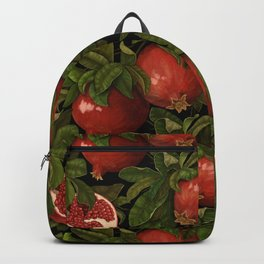 pomegranate branches Backpack