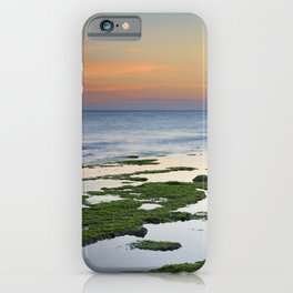 Green coast. Mediterranean sea. iPhone Case