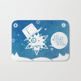 Jolly Good Snow Bath Mat